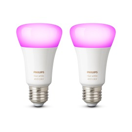 Philips Hue White & Color Ambiance LED E27 Pack Double