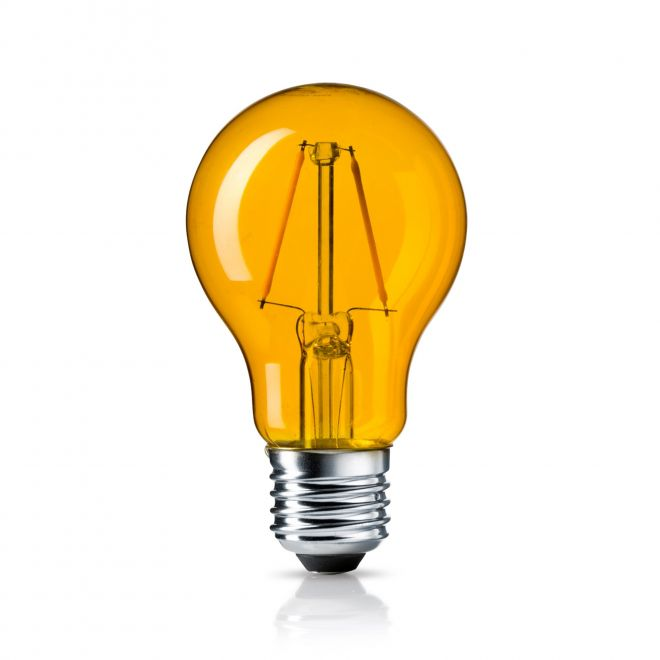 Osram LED SUPERSTAR CLA 15 DécorYellow non-dim  2W 827 E27