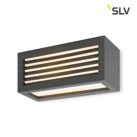 SLV Box-L, LED Outdoor Wall Light, anthracite