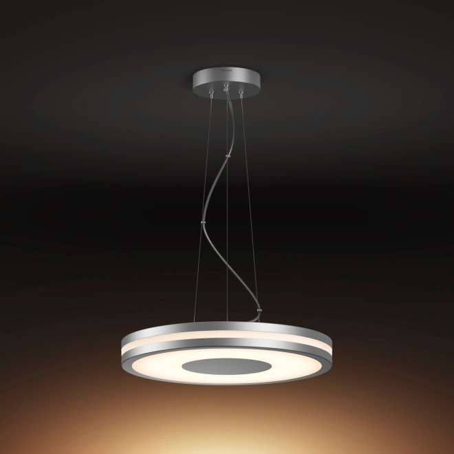 new concept a024f a42de Philips Hue Being LED Pendant Light silver