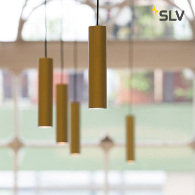 SLV ENOLA B pendant light PD-1 brass