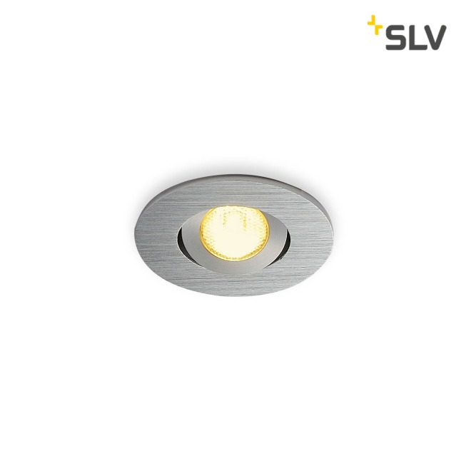 SLV NEW TRIA MINI DL ROUND Downlight alu-brushed