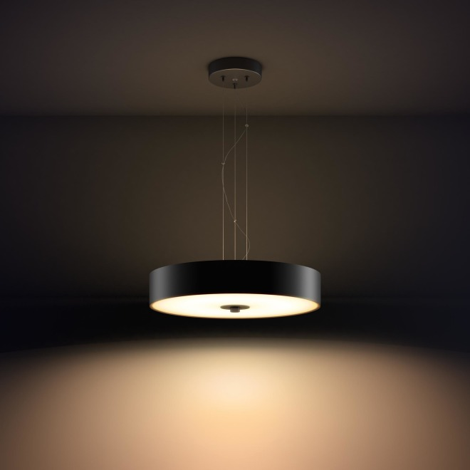 Philips hue Fair LED pendant light black