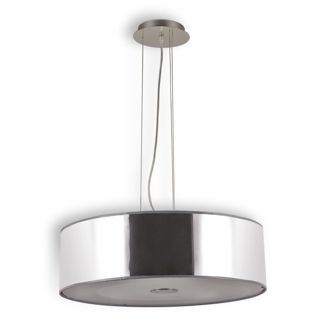 Ideal Lux WOODY SP4 CROMO lampe suspendue