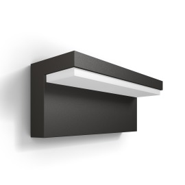Philips myGarden LED wall light Bustan anthracite