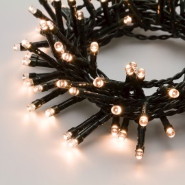 Lotti LED String of Lights, warm white, 300 LEDs, Multifunction, battery-operated, 12m, IP44