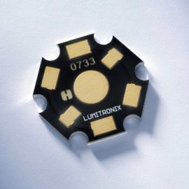 LUMITRONIX Star-PCB aluminium for Seoul P4