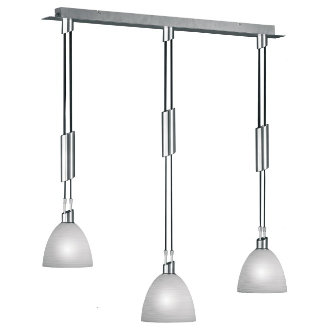 WOFI pendant light SAVANNAH 3-flames