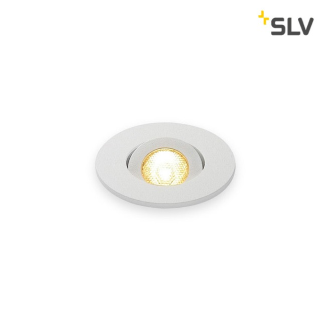 SLV NEW TRIA MINI DL ROUND SET Downlight mattweiß