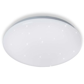 ESTO ceiling light STARLIGHT round