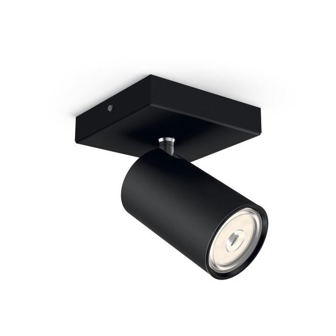 Philips myLiving Spotlight Kosipo 1-flame, black