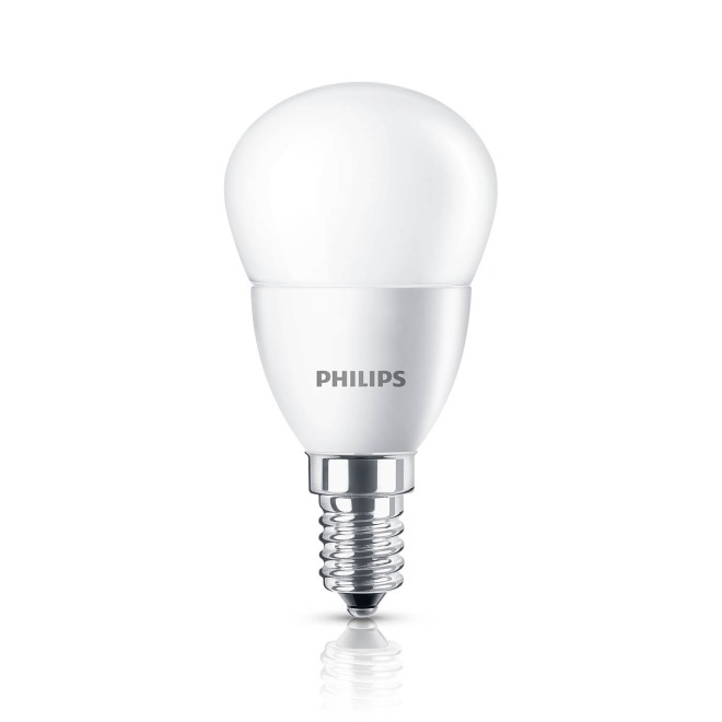 Philips CorePro LEDluster 5,5-40W 827 E14 P45 frosted