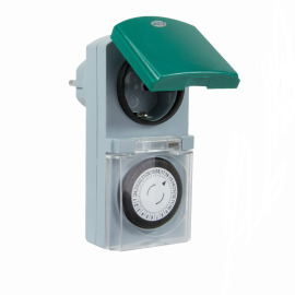 REV Mechanical Outdoor Timer, IP44