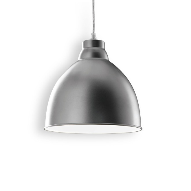Ideal Lux NAVY SP1 ALLUMINIO lampe suspendue