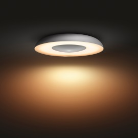 Philips Hue White Ambiance Still LED Ceiling Light aluminium white, 2400lm