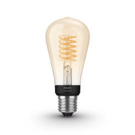 Philips Hue White LED E27 Filament ST64