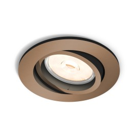 Philips myLiving LED spot Donegal round copper