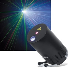 Showgear VIBE FX Polar Beat LED Projector