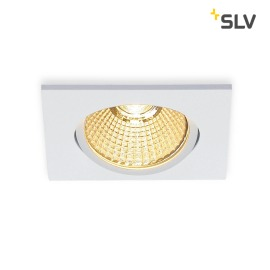 SLV NEW TRIA 68 LED DL SQUARE Set Downlight blanc
