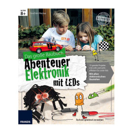 The big book adventure electronics with LEDs