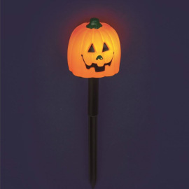 Lotti LED pumpkin Halloween garden stake