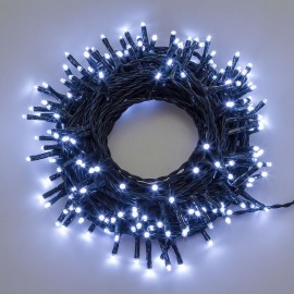 Konstsmide LED fairy light (rope)  white, 41m (200 LEDs)