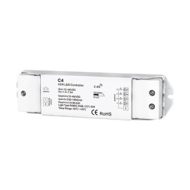 Optonica LED RGB/RGBW Controller C4, 4 Channels, Constant Current