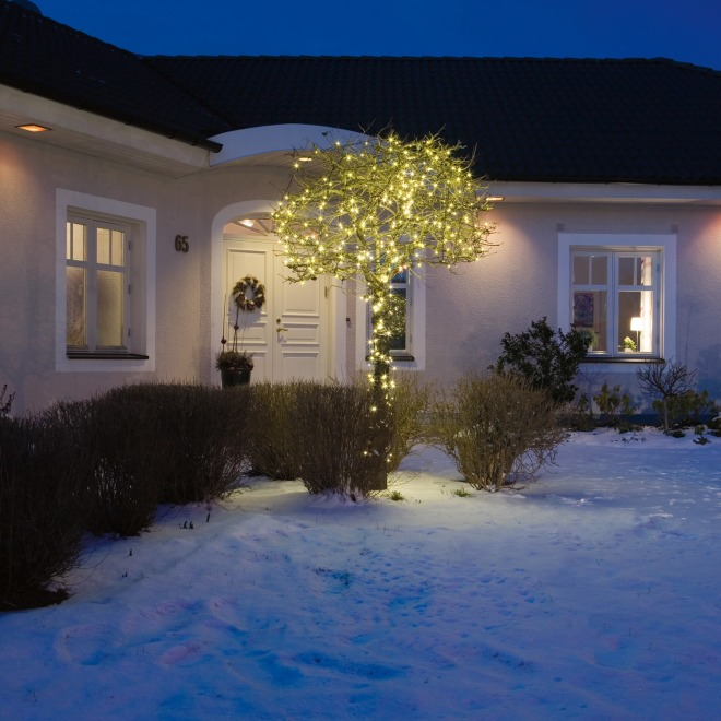 Konstsmide LED Chain of Ligths, Twinkling Effect, 40 warmwhite LEDS