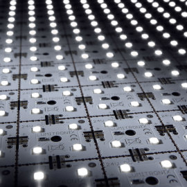 LED Matrix mini, white, 9x14, 504 LEDs, 5700K