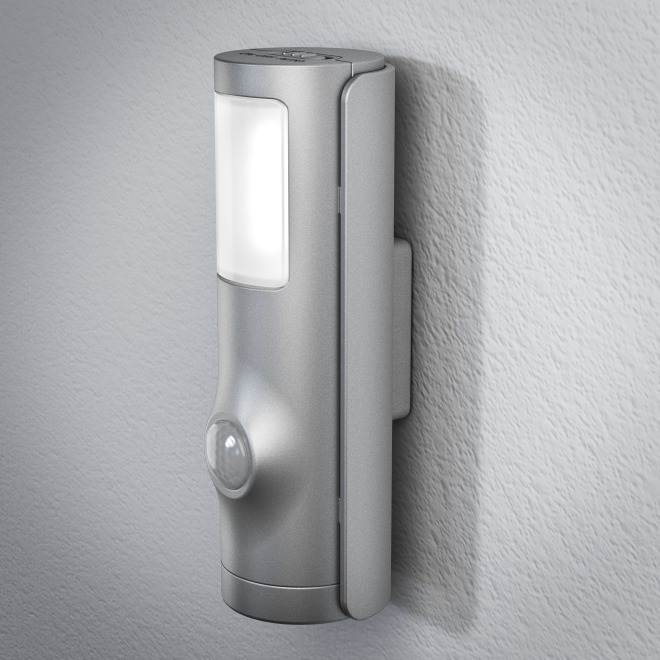 Osram NIGHTLUX Torch Silber