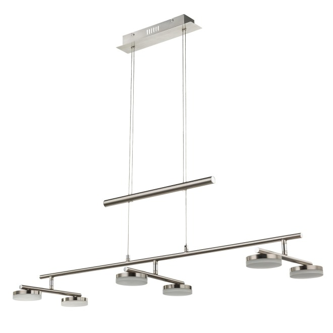 WOFI lampe suspendue HOOK 6-flammes