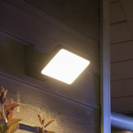 Philips Hue White Welcome LED-Flutlicht, schwarz
