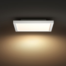 Philips Hue LED Panel Light Aurelle, white, White Ambiance, square, 2200lm