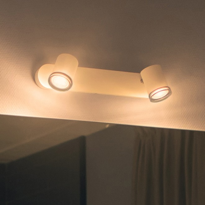Philips Hue Adore LED spot white, double-flame