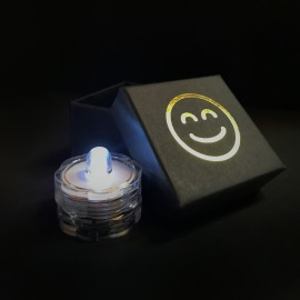 LED tea light white - free of charge for Lumitronix customers!