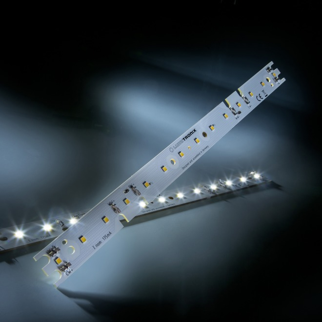 LED-Modul MiniDaisy, 14 LEDs, 2in1 Tunable White, 279,65x20mm