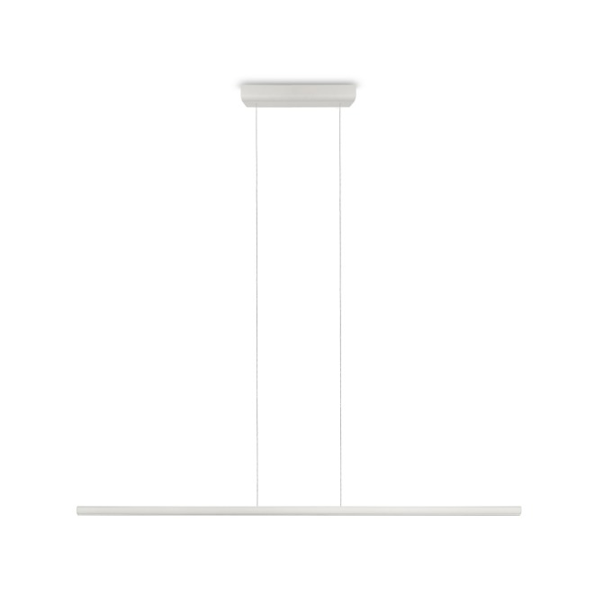 Linea LED-Pendelleuchte Straight P1 18W weiß