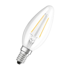 Osram LED RETROFIT CLASSIC B 25 2,5W 827 E14 CL