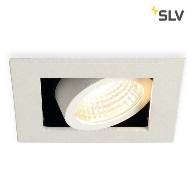 SLV KADUX LED Single Downlight Set blanc