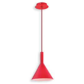 Ideal Lux COCKTAIL SP1 SMALL ROSSO Pendelleuchte