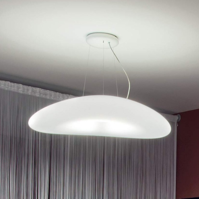 Linea LED Pendant Light Mr. Magoo P 4000K 23W blanc