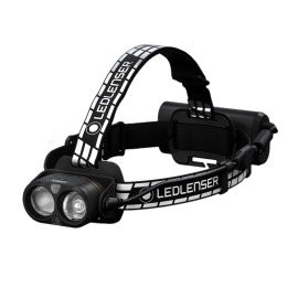 Ledlenser H19R Signature LED Headlamp, Dimmable, Rechargeable, Bluetooth, IP67