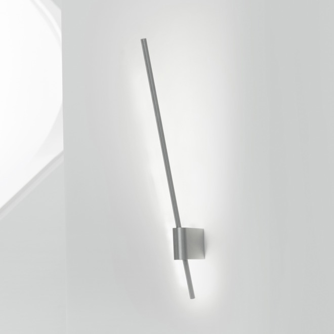 Steng LED-Wandleuchte AX-LED nickel