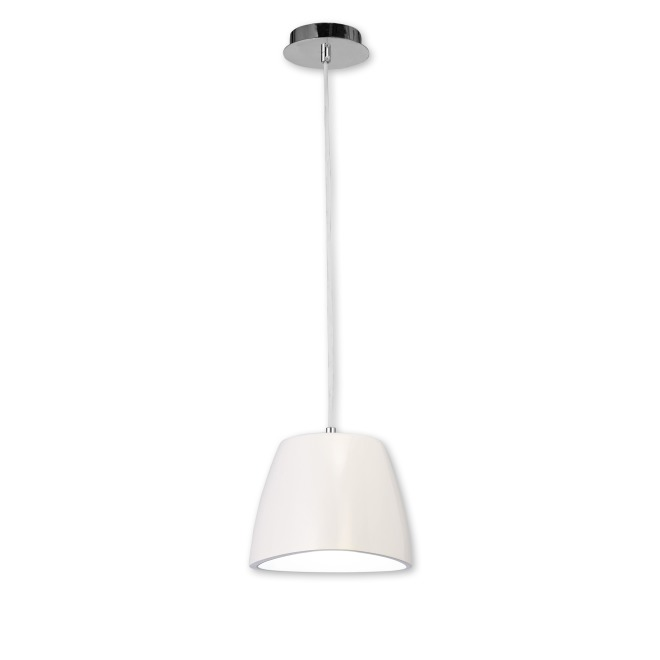 Mantra lampe suspendue TRIANGLE SMALL 1L blanc