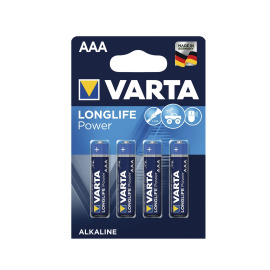 VARTA 4903 Longlife Power Batterien AAA Pack of 4 image
