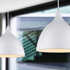 Globo pendant light Jackson I white