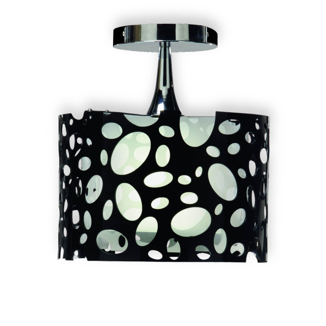 Mantra ceiling lights MOON WHITE AND BLACK 1L