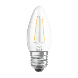 Osram LED SUPERSTAR FILAMENT klar DIM CLB 40 5W 827 E27