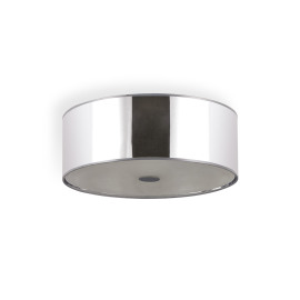 Ideal Lux WOODY PL4 CROMO ceiling light
