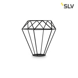 SLV FENDA MIX&MATCH Lampshade, Mesh Shade, D/H 18/20.5 cm, matt black